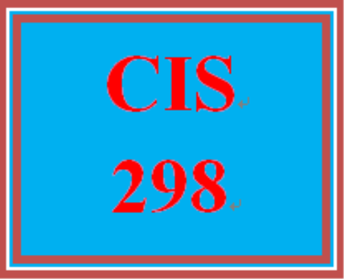 First Additional product image for - CIS 298 Week1 Individual: Real World Regulatory Compliance