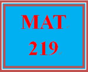 MAT 219 Week 2 participation Linear Equations | eBooks | Education