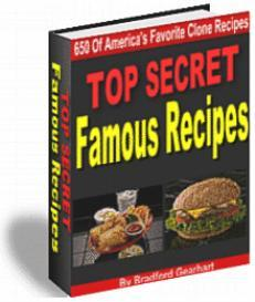 TOP SECRET Famous recipes | eBooks | Food and Cooking