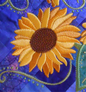 Laura's Summer's Gold Sunflower Collection PES | Crafting | Embroidery