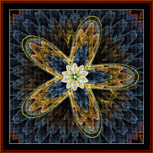 Fractal 575 cross stitch pattern by Coss Stitch Collectibles | Crafting | Cross-Stitch | Wall Hangings