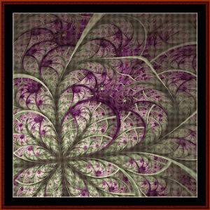 Fractal 576 cross stitch pattern by Coss Stitch Collectibles | Crafting | Cross-Stitch | Wall Hangings
