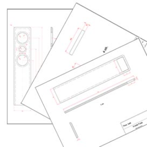 speaker cabinet enclosure construction plans, seas thor