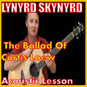learn to play the ballad of curtis loew by lynyrd skynyrd