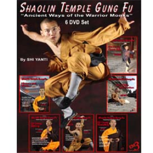 shaolin temple gung fu 6 video series