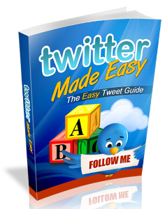 Twitter Made Easy | eBooks | Business and Money