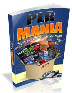 PLR Mania 2016 | eBooks | Business and Money