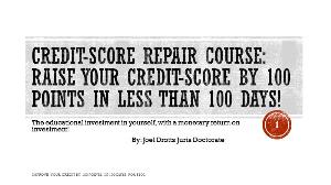 credit repair course