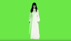 Green screen female ghost | Movies and Videos | Arts