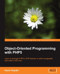 Object-Oriented Programming with PHP5 | Software | Developer