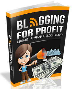Blogging For Profit 2015 | eBooks | Business and Money