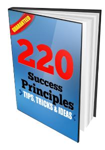 220 Success Principles | eBooks | Business and Money