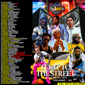 dj roy tek it to the street dancehall mix vol.20