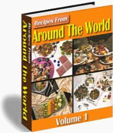 Recipes From Around The World (2 volumes at price of one) | eBooks | Food and Cooking