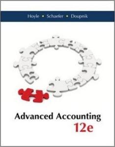 advanced accounting, 12th edition, pdf