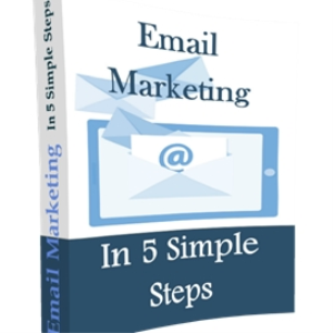 email marketing 'in 5 simple steps'