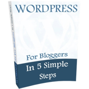 worpress for bloggers 'in 5 simple steps'