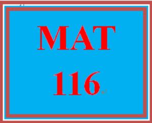 MAT 116 Week 9 MyMathLab Study Plan for Final Exam | eBooks | Education