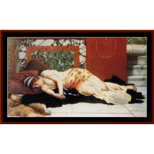 Endymion - Godward cross stitch pattern by Cross Stitch Collectibles | Crafting | Cross-Stitch | Wall Hangings