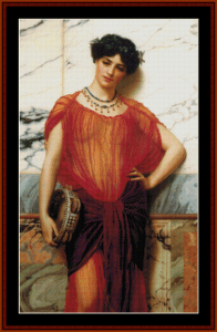 Drusilla - Godward cross stitch pattern by Cross Stitch Collectibles | Crafting | Cross-Stitch | Wall Hangings