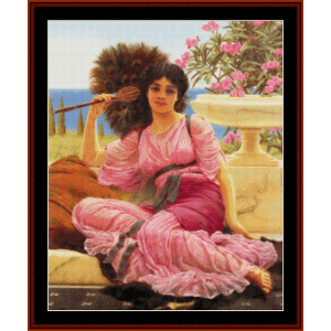 Flabelifera - Godward cross stitch pattern by Cross Stitch Collectibles | Crafting | Cross-Stitch | Wall Hangings