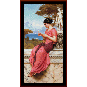 Le Billet Doux - Godward cross stitch pattern by Cross Stitch Collectibles | Crafting | Cross-Stitch | Wall Hangings