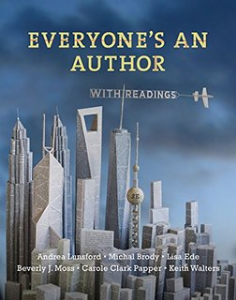 everyone's an author with readings (second edition) by andrea lunsford, lisa ede, beverly moss, carole clark papper, keith walters