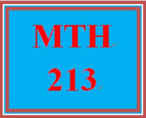 MTH 213 Week 1 Bio and Team Charter   eBooks   Education