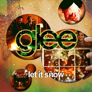 let it snow, let it snow, let it snow for vocal duet, full rhythm and percussion and a 6pc horn combo inspired by glee.