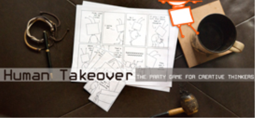 First Additional product image for - Human Takeover - The Party Game for Creative Thinkers