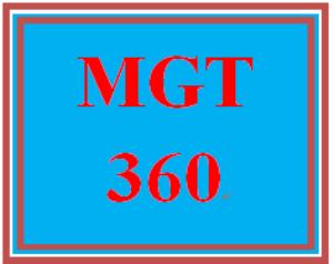 MGT 360 Week 5 Sustainable Strategies | eBooks | Education