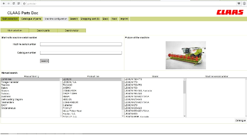 First Additional product image for - Claas Parts Doc Online - link on parts catalog