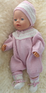 DollKnittingPattern 0155D BETSY - Suit with short legs, bonnet and socks-(English) | Crafting | Knitting | Other