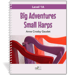 Big Adventures Small Harps, Level 1A (e-book + mp3s) - PRIVATE STUDIO | eBooks | Music