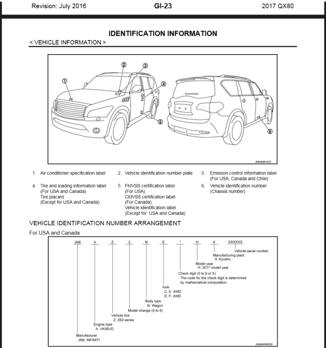 First Additional product image for - 2017 Infiniti QX80 Z62.Service manual Wiring diagram