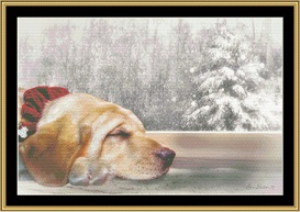 Lily Dreaming Cross Stitch Pattern By Mystic Stitch | Crafting | Cross-Stitch | Other