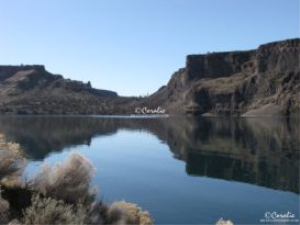 lake billy chinook oregon reflections web