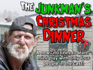 The Junk Man's Christmas Dinner | Music | Backing tracks