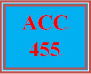 acc 455 week 3 team assignment, part 1