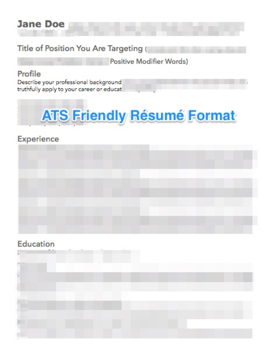 First Additional product image for - Modern ATS Friendly Résumé Template