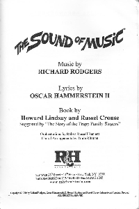 sound of music   music book + song downloads with karaoke