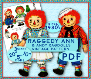 Raggedy Ann & Andy | Crafting | Sewing | Other