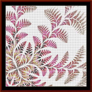 Fractal 582 cross stitch pattern by Cross Stitch Collectibles | Crafting | Cross-Stitch | Wall Hangings