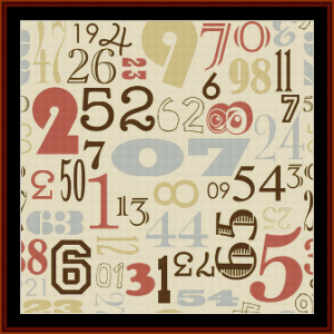 Vintage Numbers II cross stitch pattern by Cross ?Stitch Collectibles | Crafting | Cross-Stitch | Other