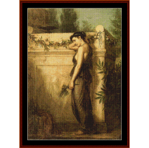 Gone But Not Forgotten, 1873 - Waterhouse cross stitch pattern by Cross Stitch Collectibles | Crafting | Cross-Stitch | Wall Hangings