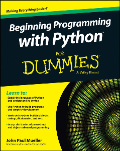 beginning programming with python for dummies ebook