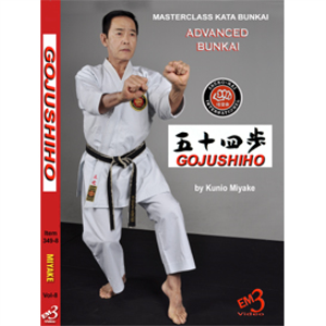 GOJUSHIHO Kata & Bunkai Vol-8 By Kunio Miyake DOWNLOAD | Movies and Videos | Training