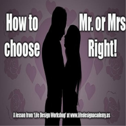 Second Additional product image for - How to Choose Mr. or Mrs Right