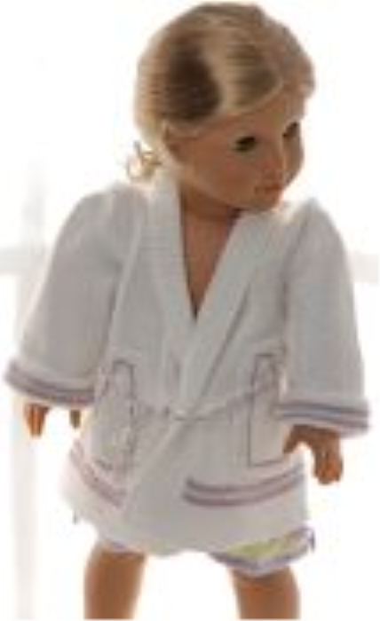 First Additional product image for - DollKnittingPatterns 0156D SOPHIA - Nachthemd, Morgenmantel, Slipper und Babydoll-(Deutsch)