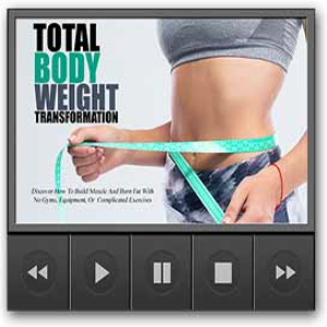 total body weight video upgrade